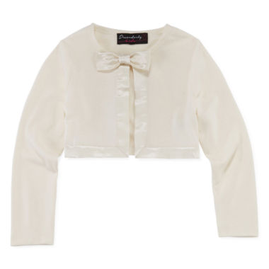 jcpenney.com | Disorderly Kids® Satin-Trimmed Cardigan - Toddler Girls 2t-4t