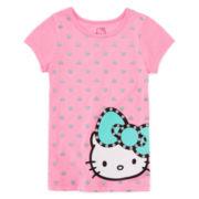 Hello Kitty® Graphic Tee - Preschool Girls 4-6x
