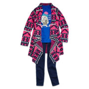 Arizona Graphic Tee, Cardigan or Jeggings - Girls 7-16 and Plus