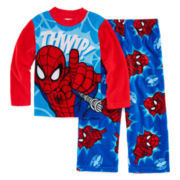 Spider-Man 2-pc. Fleece Pajama Set - Boys 4-10