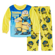 Minions 2-pc. Fleece Pajama Set - Toddler Boys 2t-4t