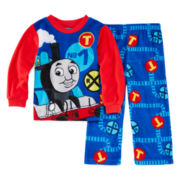 Thomas the Train 2-pc. Fleece Pajama Set - Toddler Boys 2t-4t