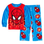 Spider-Man 2-pc. Fleece Pajama Set - Toddler Boys 2t-4t
