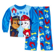 Paw Patrol 2-pc. Fleece Pajama Set - Toddler Boys 2t-4t