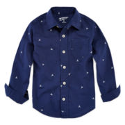 Arizona Long-Sleeve Button-Front Shirt - Preschool Boys 4-7