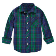 Arizona Long-Sleeve Plaid Shirt - Preschool Boys 4-7
