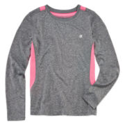 Champion® Long-Sleeve Athletic Tee - Girls 7-16