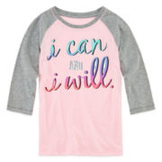 Xerion™ 3/4-Sleeve Graphic Tee - Girls 7-16 and Plus