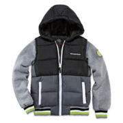 Weatherproof® Hooded Puffer Vest Jacket - Preschool Boys 4-7