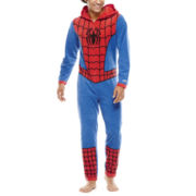 Marvel® Spider-Man Mens Union Suit Pajamas
