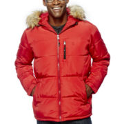 IZOD® Hooded Puffer Jacket