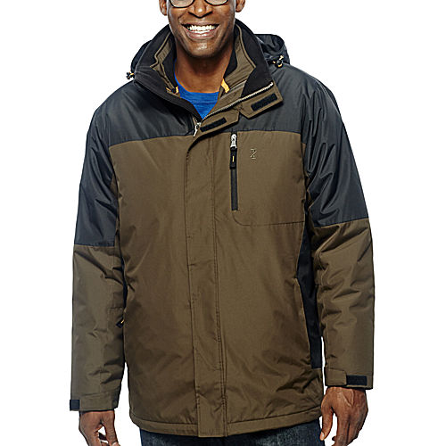 Izod Colorblock Systems Mens Jacket