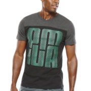 Puma® V-Neck Graphic Tee