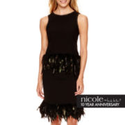 nicole by Nicole Miller® Feather-Trim Tank Top or Skirt