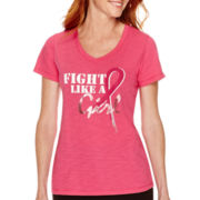 Made For Life™ Short-Sleeve Breast Cancer Awareness T-Shirt