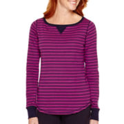 Made For Life™ Long-Sleeve Striped T-Shirt