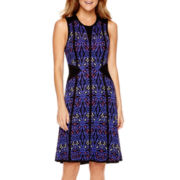 I 'Heart' Ronson® Print Knit Dress