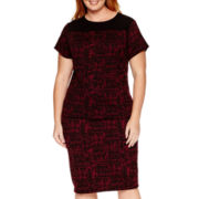 Liz Claiborne® Textured Top or Knit Skirt - Plus