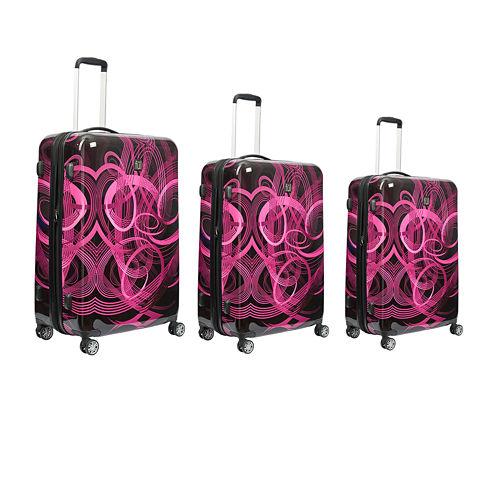 Ful Atomic 3-pc. Hardside Luggage Set