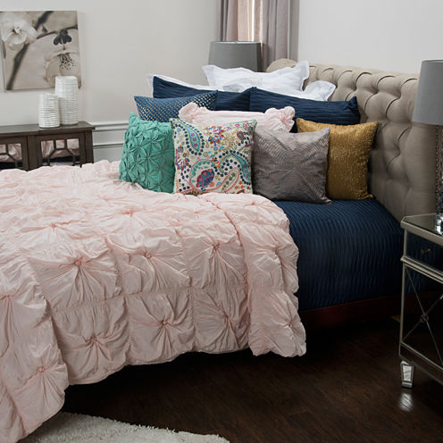 Rizzy Home Dress The Bed Plush Dreams Comforter Set