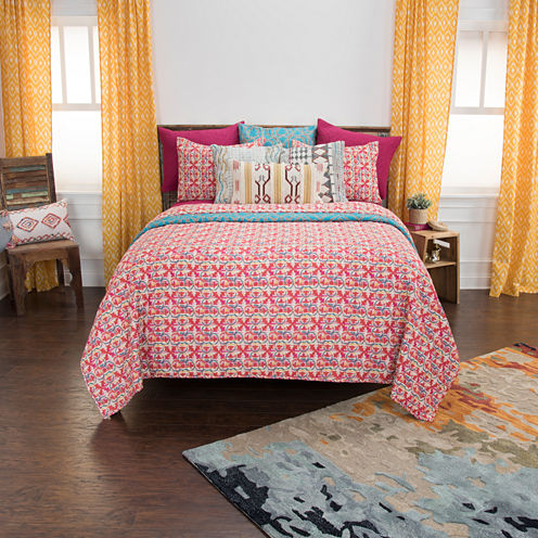 Rizzy Home Maddux Place Lilou 3-pc. Quilt Set