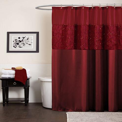 Lush Décor Maria Shower Curtain