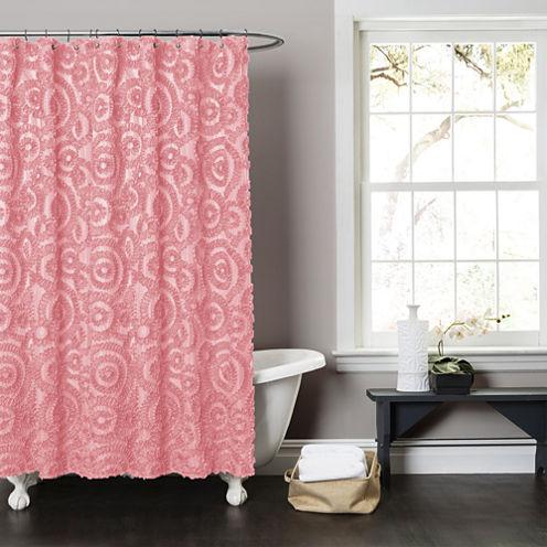 Lush Décor Stella Shower Curtain
