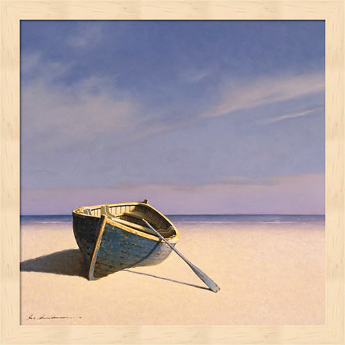Beached Boat 1 Framed Wall Art