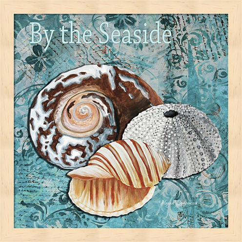 By The Seaside Framed Wall Art