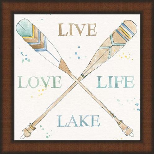 Lakehouse V Framed Wall Art