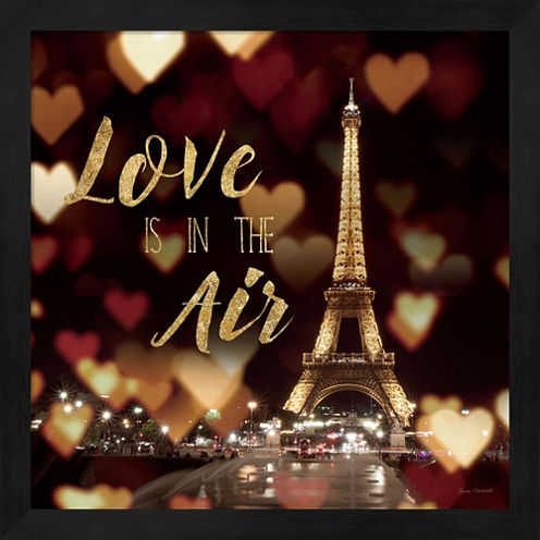 Love Is In The Air Framed Wall Art