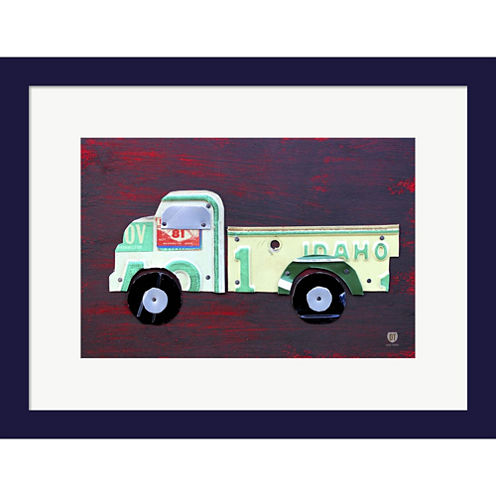 Pickup Truck Framed Wall Art
