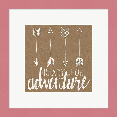 Ready For Adventure Framed Wall Art