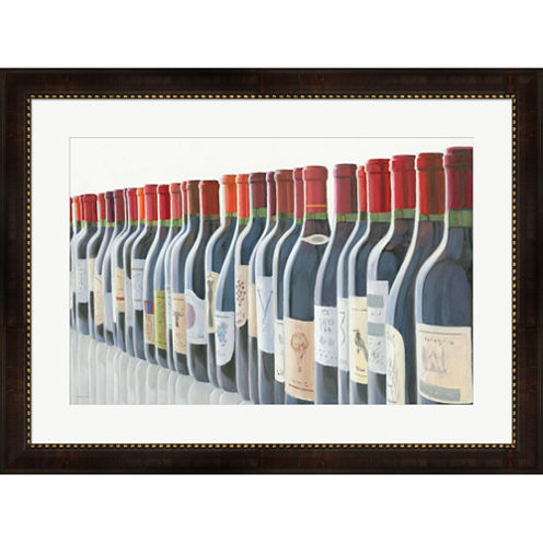 Splendid Reds Framed Wall Art
