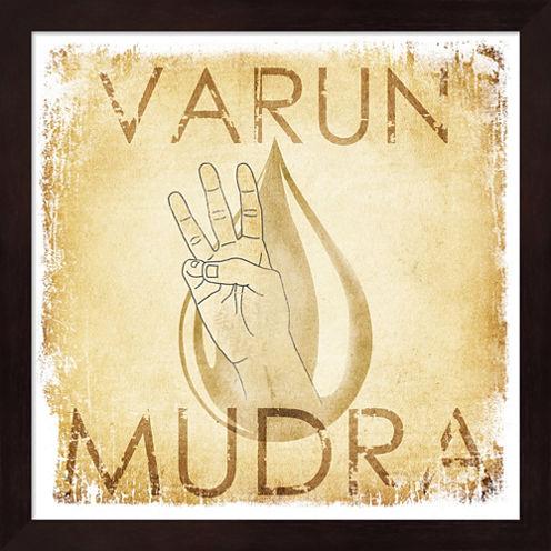Varun Mudra (Water) Framed Wall Art