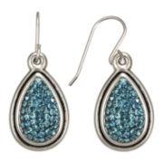 Montana Blue Crystal Teardrop Earrings