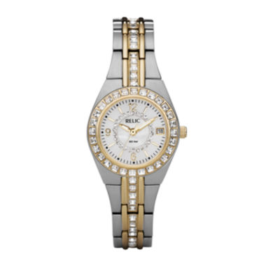 jcpenney.com | Relic® Womens Two-Tone Watch ZR11775