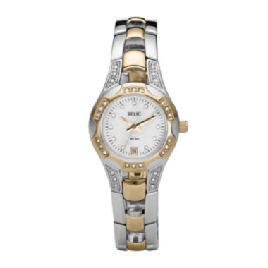 jcpenney.com | Relic® Womens Mother-of-Pearl Watch ZR11761