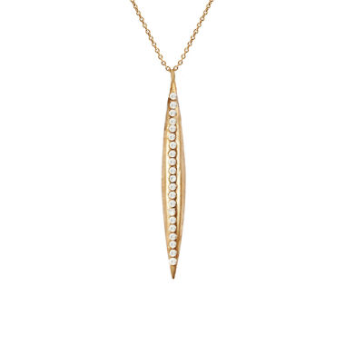 jcpenney.com | dom by dominique cohen Gold-Tone Cubic Zirconia Lightning Pendant Necklace