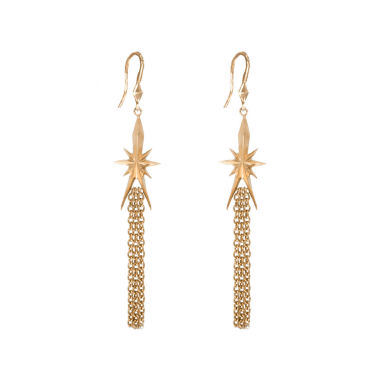 jcpenney.com | dom by dominique cohen Gold-Tone Star & Tassel Earrings