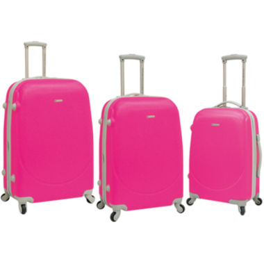 jcpenney.com | Travelers Club 3-pc. Hardside Spinner Luggage Set