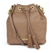Liz Claiborne Crossbody Bucket Bag