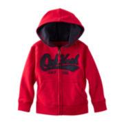 OshKosh B'gosh® Logo Zip-Front Hoodie – Boys 4-7x