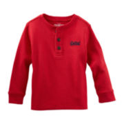 OshKosh B'gosh® Long-Sleeve Thermal Henley – Boys 2t-4t