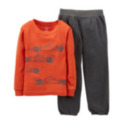 Carter's® 2-pc. Racecar Pajama Set - Boys 12m-24m