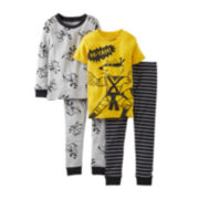 Carter's® 4-pc. Karate Pajama Set - Boys 6m-24m