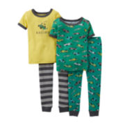 Carter's® 4-pc. Racecar Pajama Set – Boys 6m-24m