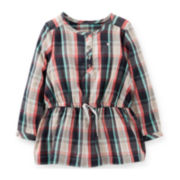 Carter's® Flannel Tunic – Girls 6m-24m