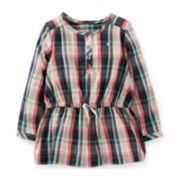 Carter's® Flannel Tunic – Girls 6m-24m