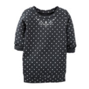 Carter's® French Terry Polka Dot Tunic – Girls 6m-24m
